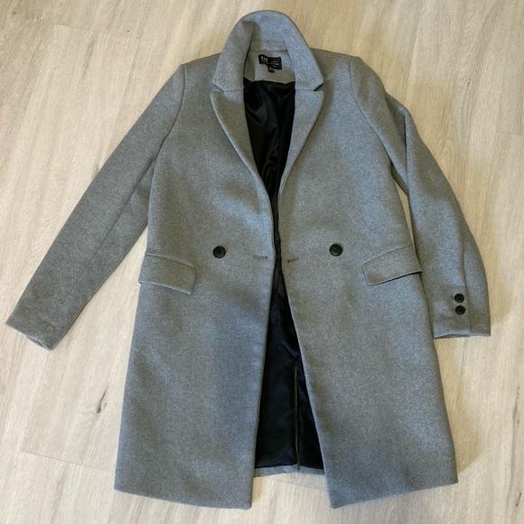 Wool grey trench coat (never worn)